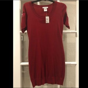 Body central body con red dress size small